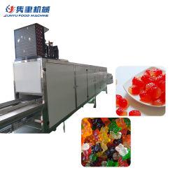 기계 또는 작은 고무 같은 곰 사탕 생산 라인을 만드는 묵 사탕
