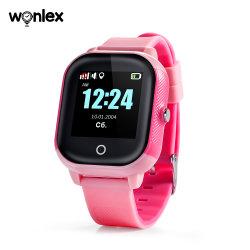 Wonlex China 2020 Novo Produto Smartwatch Android IP67 GPS à prova de chamada de vídeo Kids Relógio GPS do telefone para crianças