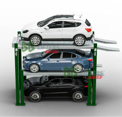 CE réceptacle triple 3 parking parking voiture de système de relevage soulevez