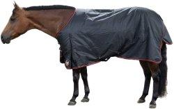 Resistente al agua Productos Equinos caballo mantas Manta, negro