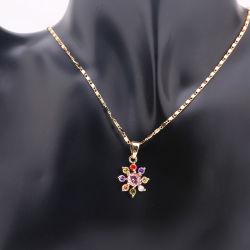 Мода украшения кубических обедненной смеси набора ювелирных изделий с ожерельем Earring