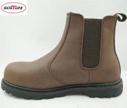 Нубук Обувь стали Toe работу ботинки мужчин Челси загружается промышленных обувь Маслостойкий защитные ботинки
