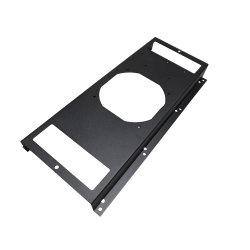 As peças de alumínio Fabricação personalizada OEM Computador Acessórios para os suportes do ventilador