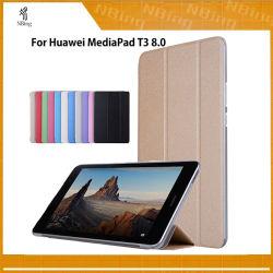Smart couvre les cas pour le pavé Mediapad de Huawei T3 8.0 Kob-L09 Kob-W09 pour 8'' support Tablet PC Slim cas pour l'honneur de jouer le Pad 2 8.0