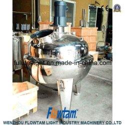 Kokende Pot van de Jam van het Fruit van de hoogste Kwaliteit de Industriële met Mixer