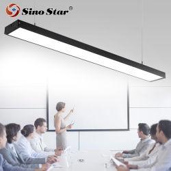 Ysd-3940 Zwart Wit Zilver 10/15W Flexible Suspension Aluminium Profile LED Linear Light-systeem met koppelbaar omhoog en omlaag