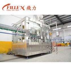 3 em 1 Máquina de nivelamento de enchimento de lavagem automática Planta Piloto