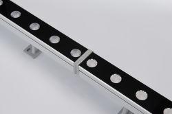 Для использования вне помещений индивидуального освещения IP67 зажимное приспособление линейных 24Вт Светодиодные настенные шайбу