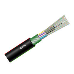 Opti enduit de polymère industrielle de base net fibre (PCF) Câble à fibre optique
