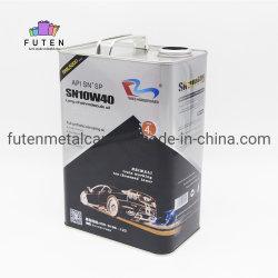 Het verschillende Blik van de Olie van de Motor van de Container van het Blik van het Tin van het Metaal van de Afmeting Lege voor de Verpakking van de Smeerolie van de Verf
