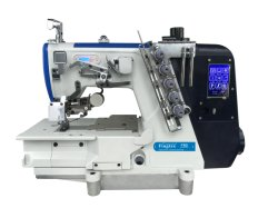 Fingtex High Speed Flachbett Direct Drive Interlock Nähmaschine mit Automatisches Trimmen