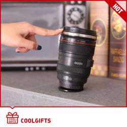 Bestseller 304 Edelstahl Kamera Objektiv Nie Fallen Kaffee Becher