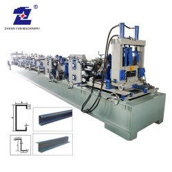 Selbst-PLC-Steuermetalrolle, die Maschine für C/Z Purlins bildet