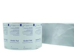 生殖不能アルコール準備のパッドのためのアルミホイルの合成のペーパーを包むクリーニング製品はまたは綿棒の挿入反発するワイプかBzkのワイプ/Alcohol Swabsticks /Antiをきれいにする