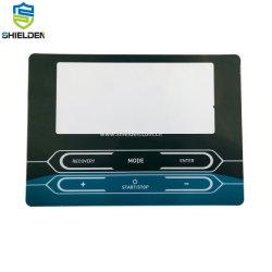 Panel de control de teclado de membrana resistente al agua IP67 de alta calidad