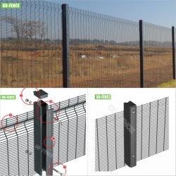 BS1722 Maille anti grimper de soudure de haute sécurité sur le fil 358 MUR 3510 clôture pour l'aéroport Usine de traitement de gaz à la frontière d'affiner la station de chemin de fer en poudre