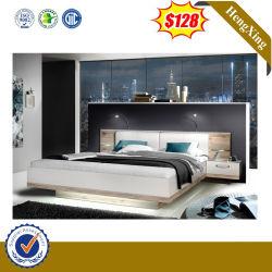 패션 목재로 된 홈 가구는 퀸 사이즈 침대 세트를 사용합니다 LED
