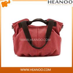 El diseñador de la mujer con estilo vintage señoras bolso de viaje Tote Handbag