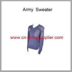 رخيصة الصين شرفة قوّة بحريّة اللون الأزرق جيش صوف جيش [بولّوفر] بالجملة