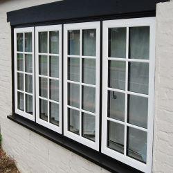 장님 가격에서 건설되는 자동적인 오프너 모기장을%s 가진 알루미늄 백색 프랑스 여닫이 창 Windows Windows