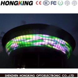 Rideau de l'écran à affichage LED P12.5 tamis à mailles de la publicité extérieure