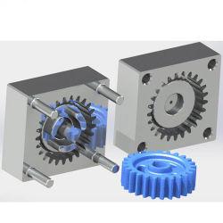 Moule à injection de plastique de précision personnalisé pour les pièces d'engrenage