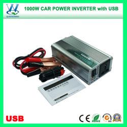 Portable 1000W Inversor de la Energía Solar de coche con USB (QW-1000MUSB)
