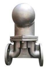 Levier en acier inoxydable de type à embase flotteur à bille pour la vapeur d'interruption de la vapeur