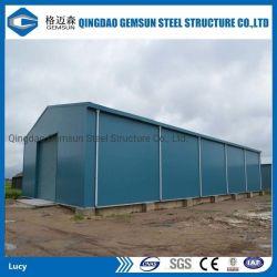 La construcción rápida de instalación sencilla estructura de acero de la luz de la construcción