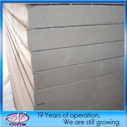 Fire-Proof Fibrocemento Placa de pared decorativos para materiales de construcción