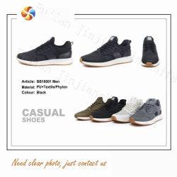 3 colores Ocio&Comfort moda hombres zapatillas zapatos PU la ejecución de calzado deportivo Calzado casual