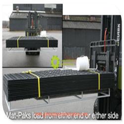 De HDPE tapete estrada temporário de plástico para máquinas para Serviço Pesado
