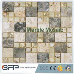 La construcción de la Naturaleza Material para la baldosa mosaico de piedra