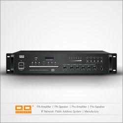Système de sonorisation 5 Zones de l'amplificateur APL-100fcd avec lecteur de CD