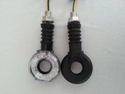 Erscheinen-Lichter des Chrom-bernsteinfarbige Markierungs-Pfeilspitzen-Montierungs-Lichter eingestellte freie Objektiv-LED Morcycle