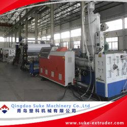 PE/PP/PVC 플라스틱 프리폼 시트/기판 압출 배관 기계