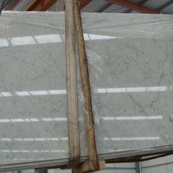 Carrara baratos/Blanco puro mármol para suelos de baldosa/pared interior