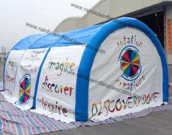 Bekanntmachen des Dichtungs-aufblasbaren luftdichten kampierenden Zeltes