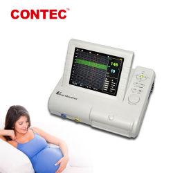 ContecのセリウムCms800gの胎児のモニタの超音波の赤ん坊の心拍数の胎児の動きのマークのTocoセンサーのCtg機械