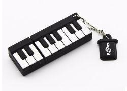 Portable 4GB 8Go et 16 Go et 32 Go à 64 Go de disque USB USB 2.0 Instrument de musique en forme de piano PVC Cute lecteur Flash USB