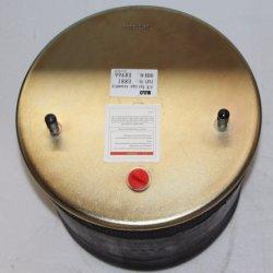 BPW resorte neumático de caucho de la suspensión de aire 881MB con pistones de acero del eje de la carretilla