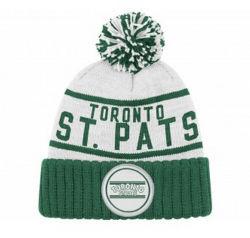2016 New Fashion Green Cotton Winter Warm Knit ビーニーキャップ