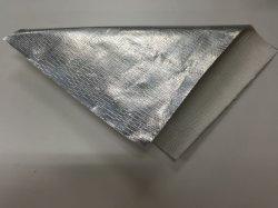 Protecção contra radiações tecido Glassfiber Alumínio/ Alumínio tecido de fibra de vidro