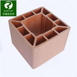 옥외를 위한 목제 플라스틱 합성 방책을 검술하는 밀어남 WPC