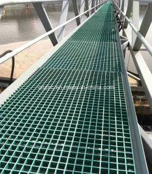 Channel Fiberglass Gratingのための補強されたPlastic GRP Composite