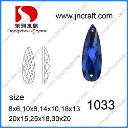 Birnentropfennähte auf Kleidungsstein (DZ-1033)