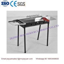 China Mini portátil de acero inoxidable plegable barbacoa de carbón de leña