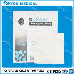 Antimicrobial Zilveren Vulling van de Wond van de Vezel Algiante met Zilver-ion