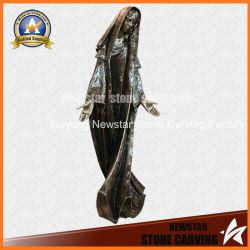Décoration maison de la taille de la vie statue en bronze sculpture