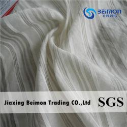 12 mm: 15 % Seide 85 % Baumwolle Stripe Voile Material für Shirt